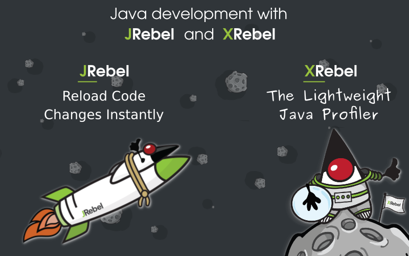 Java development with JRebel & XRebel